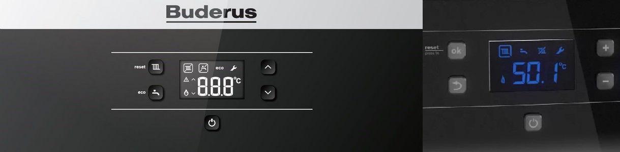 панель управления buderus logamax u072