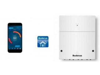 Новые возможности управления системой отопления и ГВС через Интернет от Buderus