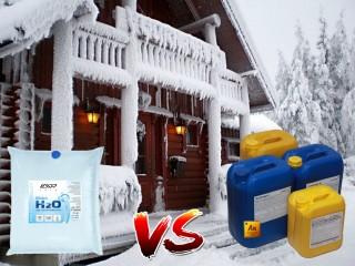 Какой теплоноситель залить в систему отопления частного дома?